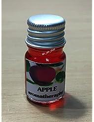 5ミリリットルアロマアップル(赤)フランクインセンスエッセンシャルオイルボトルアロマテラピーオイル自然自然5ml Aroma Apple (red) Frankincense Essential Oil Bottles...