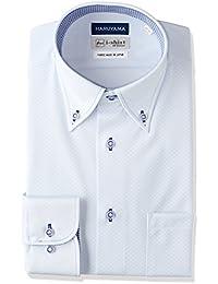 [ハルヤマ] i-Shirt 完全ノーアイロン 長袖 ボタンダウンアイシャツ M151180078 メンズ