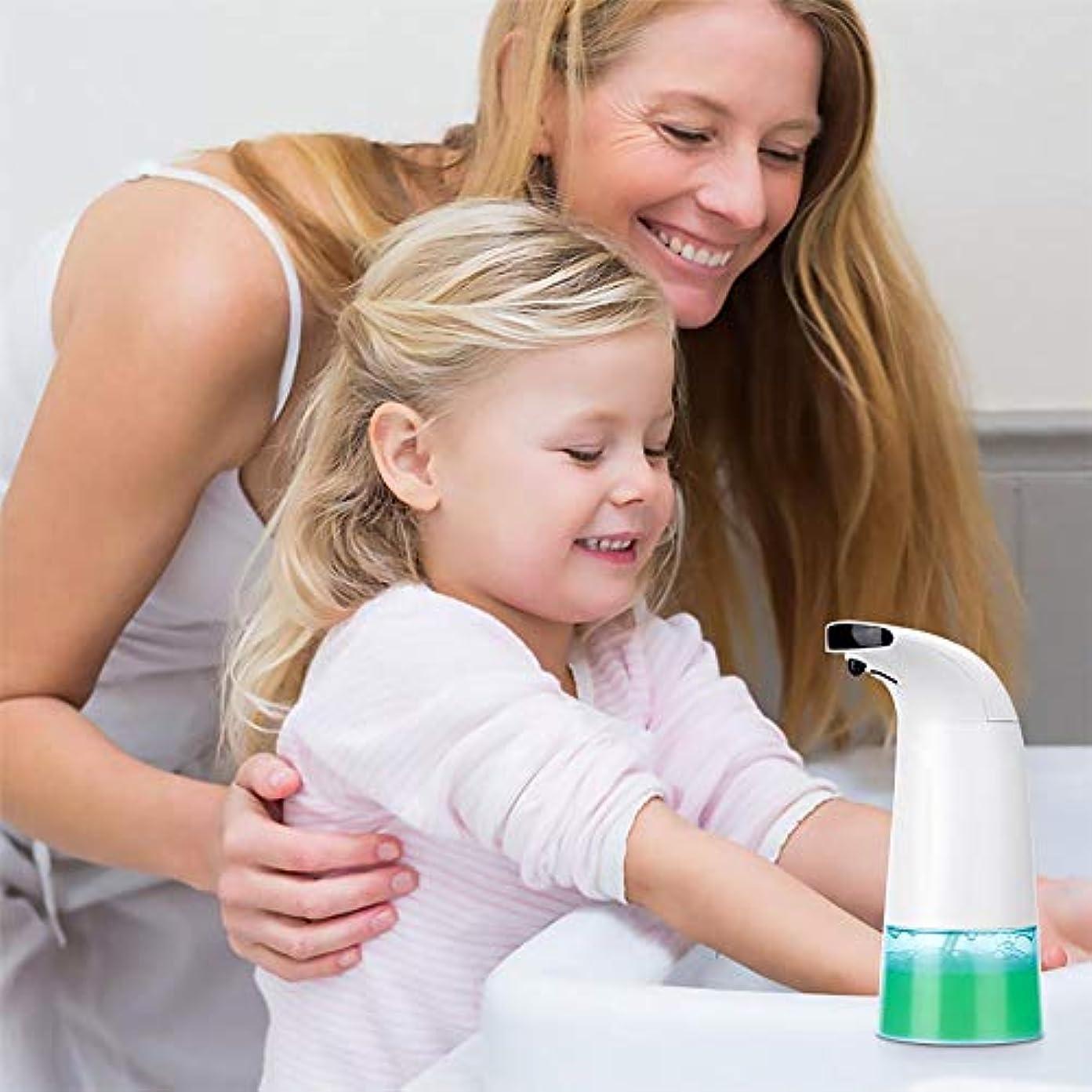 個性潜むまあミューズ ノータッチスマート赤外線センシング自動泡ハンドソープ 殺菌 消毒 漏れ防止設計 キッチントイレ用