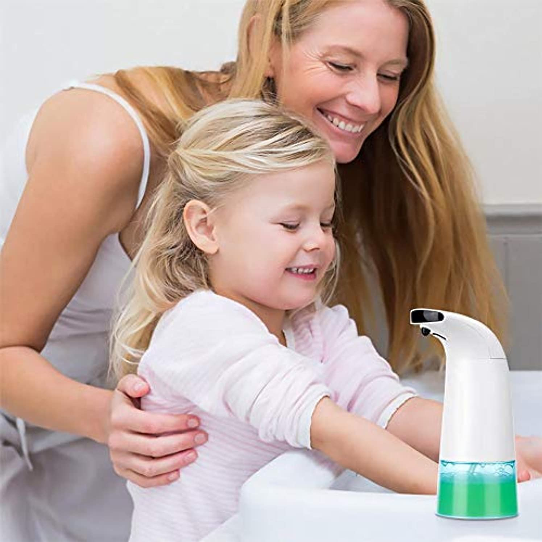 科学者かび臭い名誉あるミューズ ノータッチスマート赤外線センシング自動泡ハンドソープ 殺菌 消毒 漏れ防止設計 キッチントイレ用