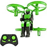 Lefant Mini Nano Drone Toy for Kids Beginners Jetpack 2.4GHz Remote Control Quadcopter with 6 Axis 3D Flips Altitude Hold Function One Key Take Off Landing-Green