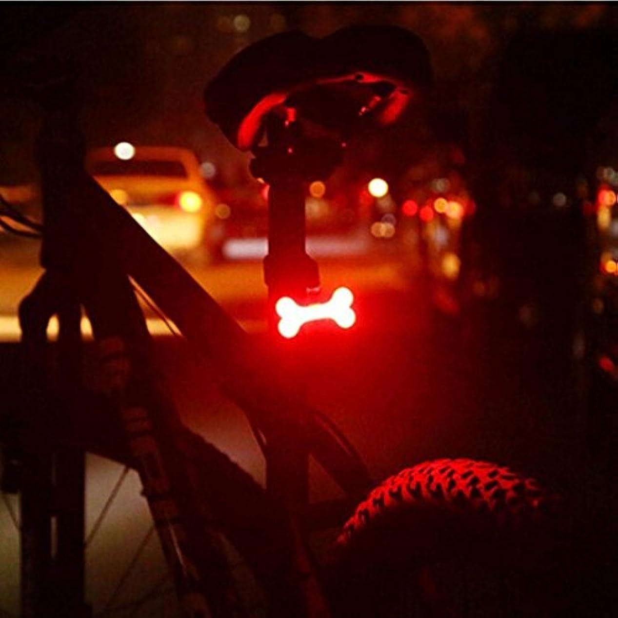 ポルトガル語曲げる配分Funnyu 自転車 テールライト USB充電式 セーフティライト5種の点灯モード 高輝度 IPX4防水ライト クリエイティブLED リアライト 防水夜間子供安全対応 夜勤など対応