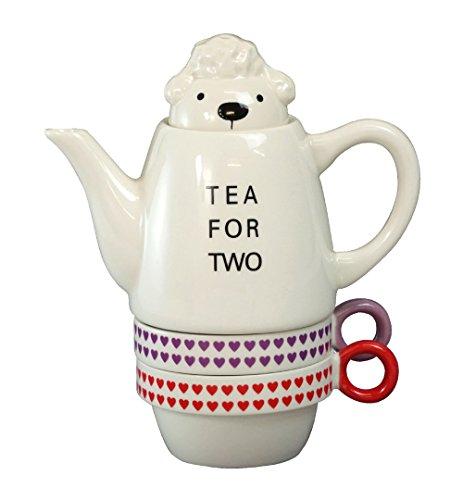 イラストが立体化したようなキュートさ!Shinzi Katoh Tea for two