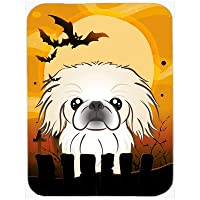 Carolines Treasures BB1779LCB Halloween Pekingese Glass Cutting Board, Large