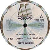 Stevie Wonder / I Just Called To Say I Love You