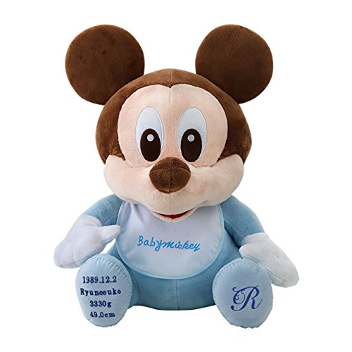ベビーミッキー ウェイトドール//ディズニー Disney 体重ドール//親ギフト 両親贈呈 結婚式 演出 サプライズ//出産祝 誕生祝