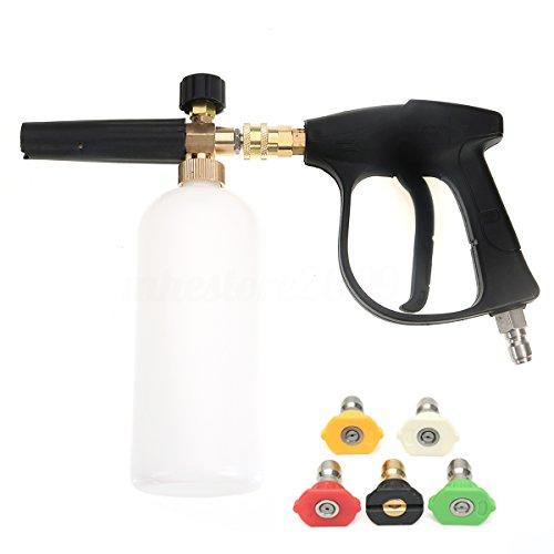NUZAMAS 洗車ガン 高圧洗浄ガン 3/8 メスのワンタ...