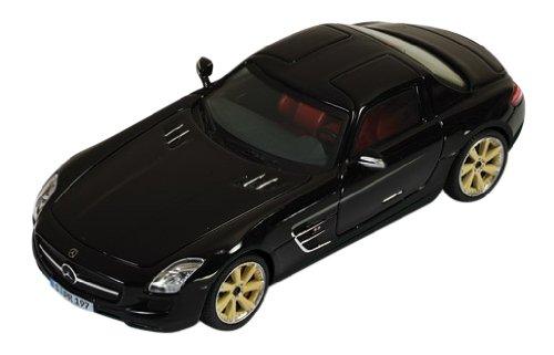 ixo 1/43 メルセデス ベンツ ロリンザー SLS AMG ブラック