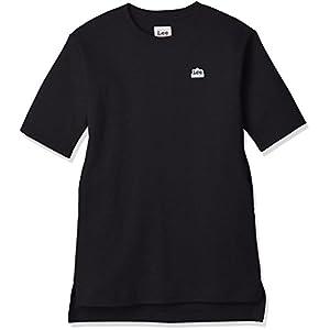 (リー)Lee(リー) ビッグシルエット ロングTシャツ ワンピース LK0330 101 ブラック 150
