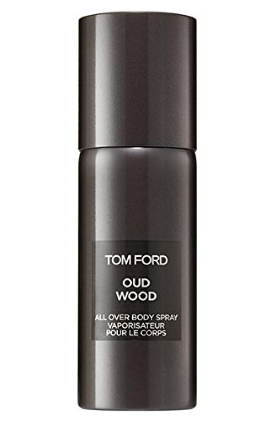 高揚した与えるレールTom Ford Private Blend 'Oud Wood' (トムフォード プライベートブレンド オードウッド) 5.0 oz (150ml) All-Over Body Spray (ボディースプレー)