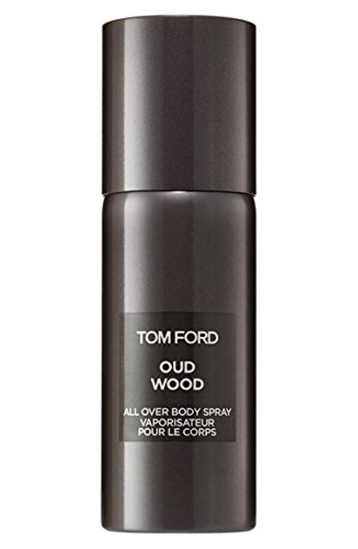 印象的な動物園船形Tom Ford Private Blend 'Oud Wood' (トムフォード プライベートブレンド オードウッド) 5.0 oz (150ml) All-Over Body Spray (ボディースプレー)