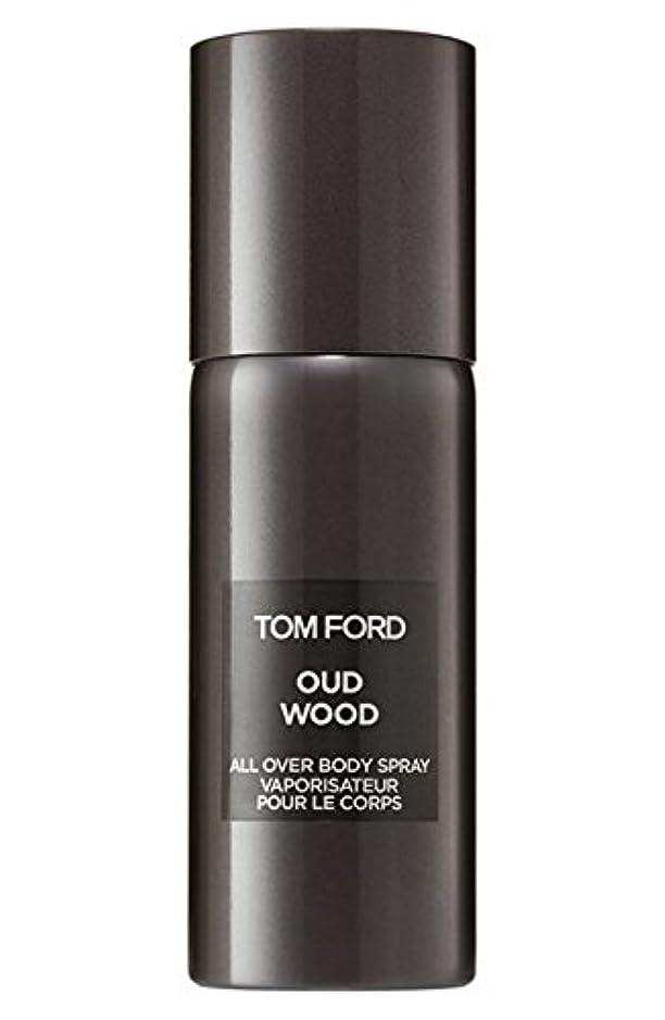 親密な驚き輪郭Tom Ford Private Blend 'Oud Wood' (トムフォード プライベートブレンド オードウッド) 5.0 oz (150ml) All-Over Body Spray (ボディースプレー)