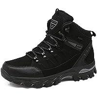 [TcIFE] トレッキングシューズ メンズ 防水 防滑 ハイカット 登山靴 大きいサイズ ハイキングシューズ メンズ 耐磨耗 ハイキングシューズ メンズ 通気性 スニーカー