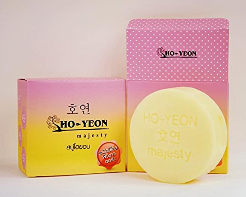 丈夫化合物ヒョウ1 X Natural Herbal Whitening Soap. Soap Yeon Ho-yeon the HO (80 grams) Free shipping