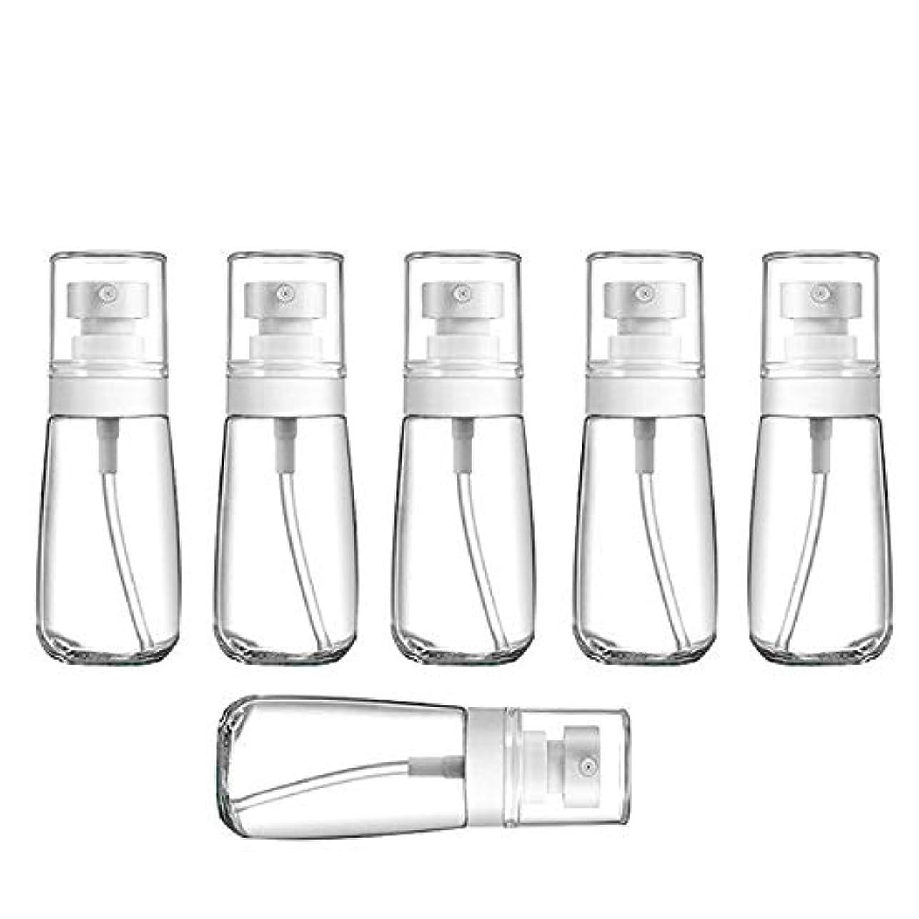 災難言うまでもなく日没YXC 良質の PETG小分けボトル トラベルボトル スプレーボトル 家に清潔消毒 緑の植物に水遣る 6本セット 日本小スプレーボトル 化粧水 詰替用ボトル 旅行用品 (60ML6本)