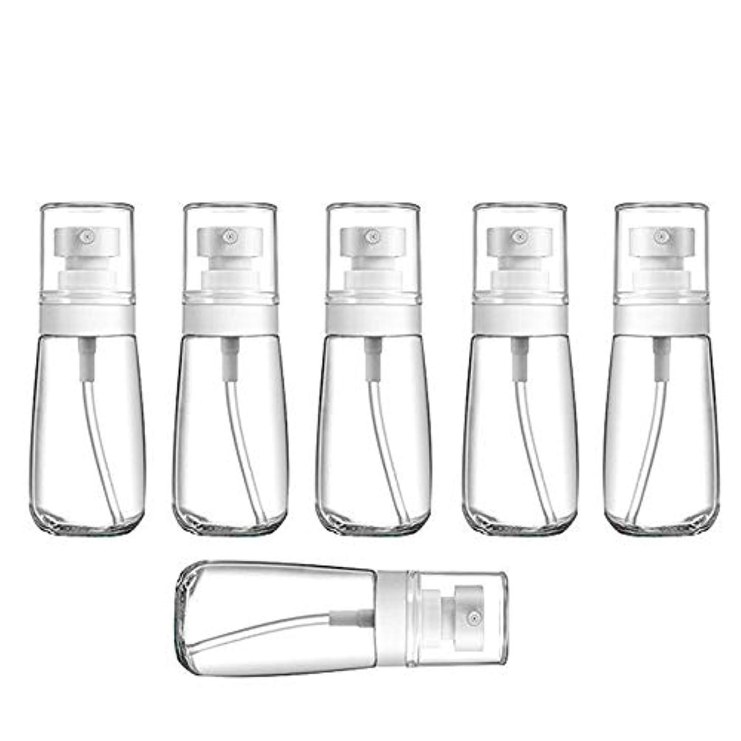シンプトン傾向がありますウェーハYXC 良質の PETG小分けボトル トラベルボトル スプレーボトル 家に清潔消毒 緑の植物に水遣る 6本セット 日本小スプレーボトル 化粧水 詰替用ボトル 旅行用品 (60ML6本)