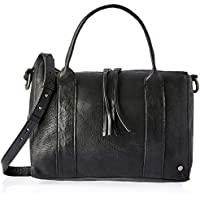 Stitch & Hide Women's Signature Collection - Betty bowler bag Hobos & Shoulder Bags, Coal, One Size