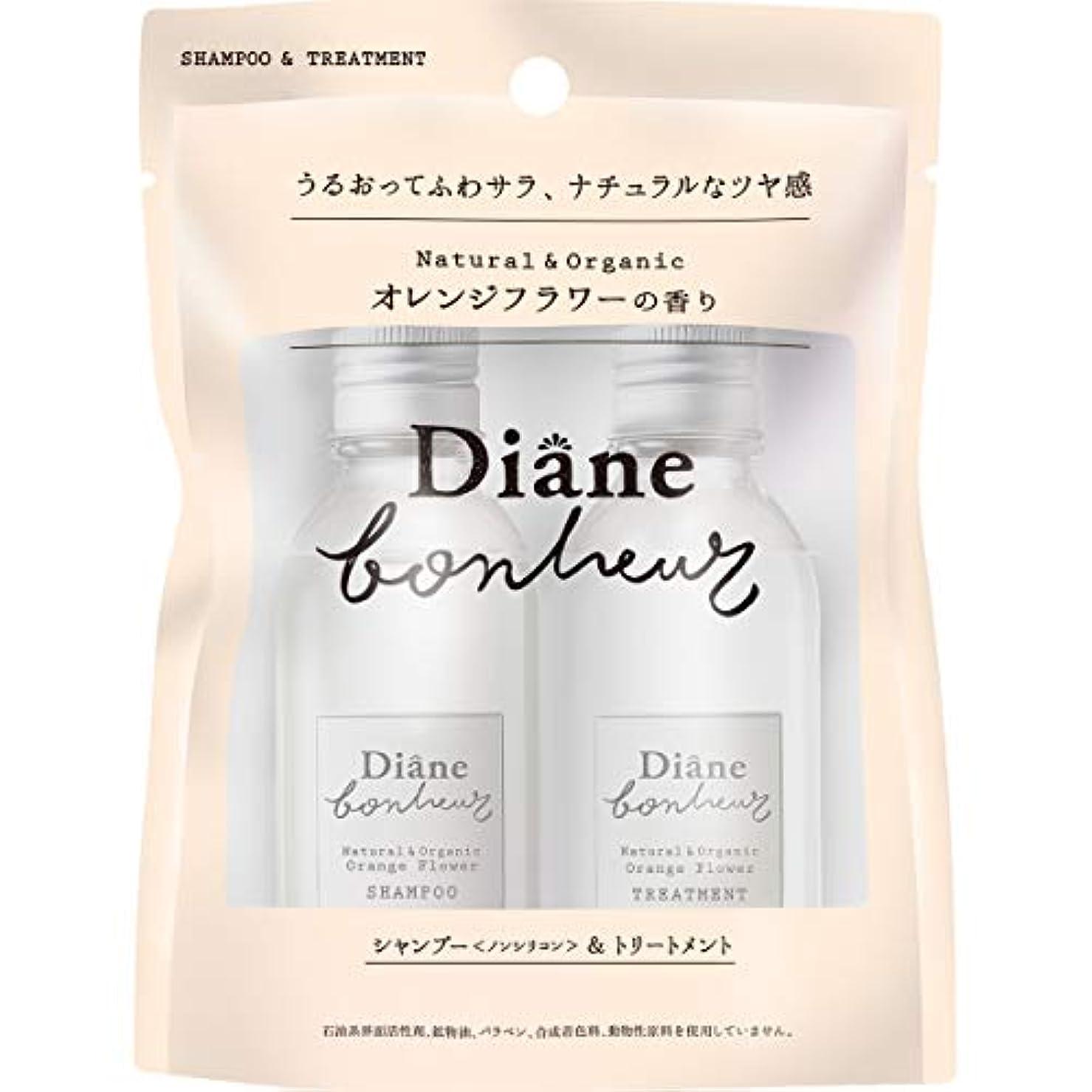 ダイアン ボヌール オレンジフラワーの香り モイストリラックス  シャンプー&トリートメント トライアル 40ml×2