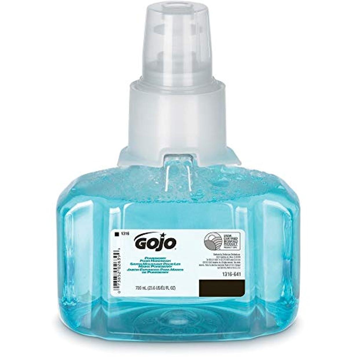 アソシエイトレッスン介入するGOJO ltx-7 Pomeberry泡手洗いリフィル