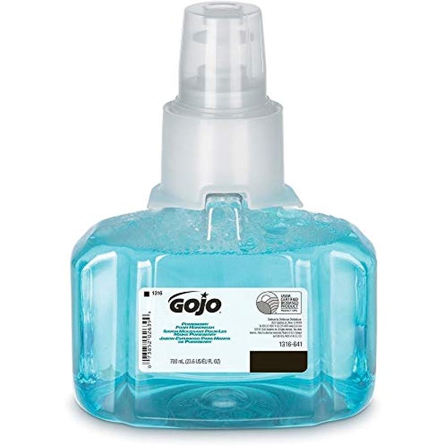 前部渦暫定GOJO ltx-7 Pomeberry泡手洗いリフィル