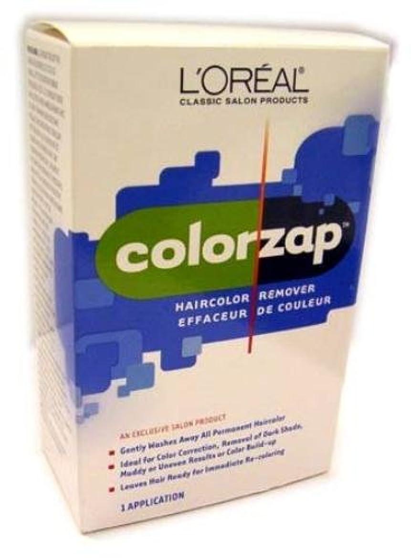 テーブルヒステリック反響するL'Oreal Technique - Color Zap - Haircolor Remover KIT