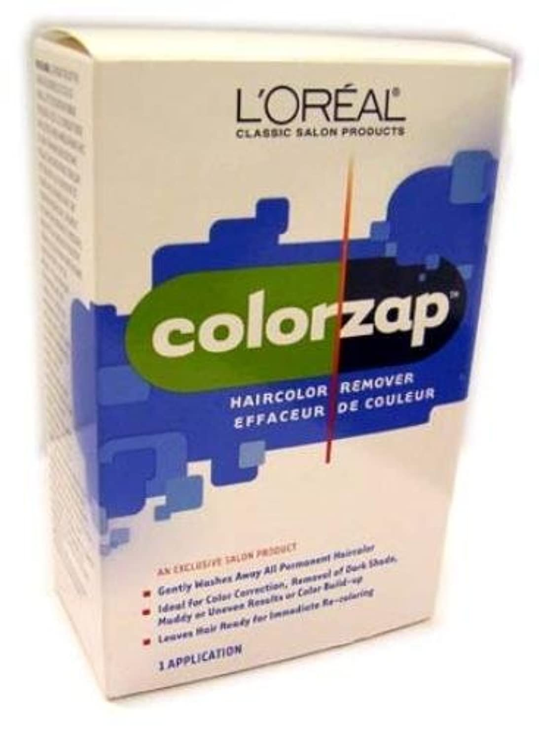 量でうまくいけばピットL'Oreal Technique - Color Zap - Haircolor Remover KIT