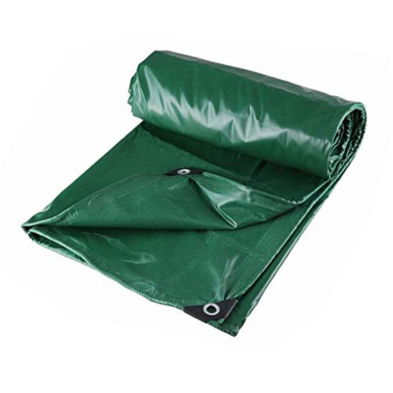 ミント寛大なルビーZX タープ 2x2mプレミアム厚い防雨PVCグリーンターポリン テント アウトドア (Color : Green, Size : 2*2M)
