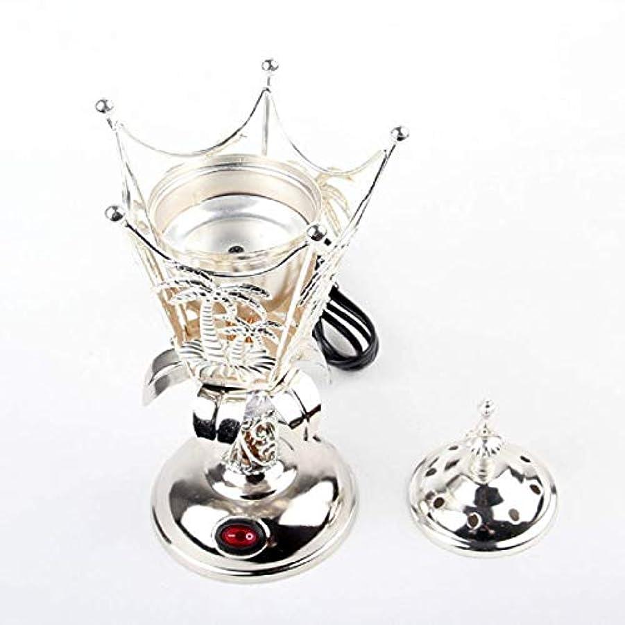 略す気分が良い南方のOMG-Deal Electric Bakhoor Burner Electric Incense Burner +Camphor- Oud Resin Frankincense Camphor Positive Energy...