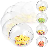 PinShang 赤ちゃん幼児用 透明ラトルボール ベビーベッド シェイクトイ 幼児 ハンドベル 知育玩具