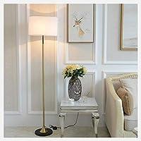 長身ポール立ちフロアランプ北欧リビングルーム読書Uplightライトは、オフィス用のソファ&ではコーナー、LEDフロアライトの横に適合します (Color : White, Size : White light)