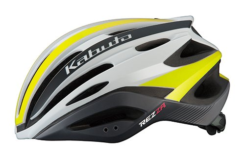 OGK KABUTO(オージーケーカブト) ヘルメット REZZA G-2 マットイエロー M/L (頭囲:57cm-60cm)