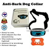 Anti Barking Vibration Control Device for Small Medium Large Dogs - No Shock - 2019 Model