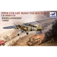 1/ 35US Piper Cub l-4Bazooka equipped with ground-attack Aircraft Rosie Rocchetta over