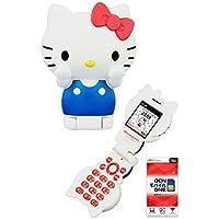 ハローキティフォン Hello Kitty FIGURINE KT-01 【OCNモバイルONE 音声通話対応SIM付】 ネックストラッププレゼント