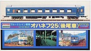 1/80 ブルートレイン客車 No.5 オハネフ25 (後尾車)