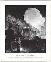 ポスター ウインストン リンク クリスチャンズバーグ付近のモンゴメリートンネル バージニア 1957 額装品 アルミ製ベーシックフレーム(ライトブロンズ)