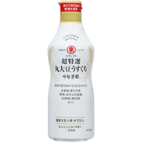 超特選丸大豆うすくち 吟旬芳醇 400ml
