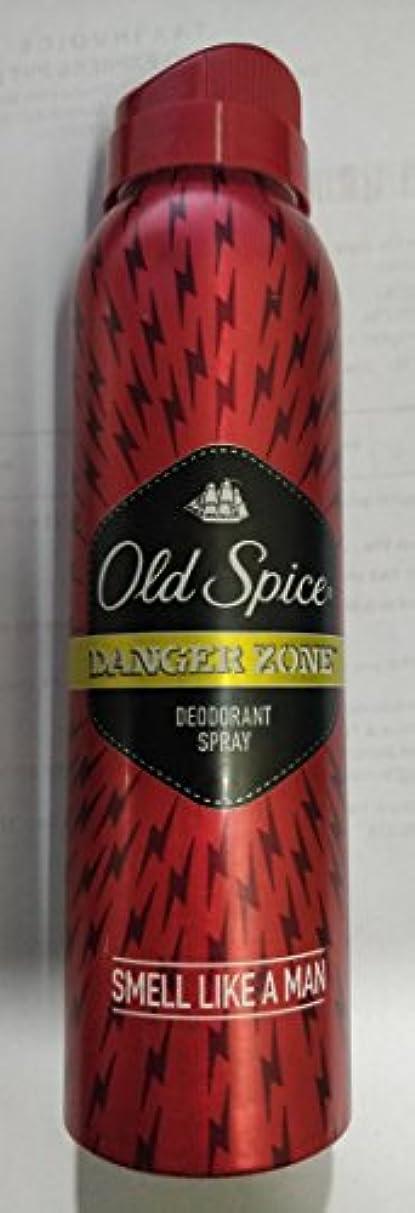 に対して満員聖書Old Spice Deodorant Spray - 150 ml (Danger Zone) - India