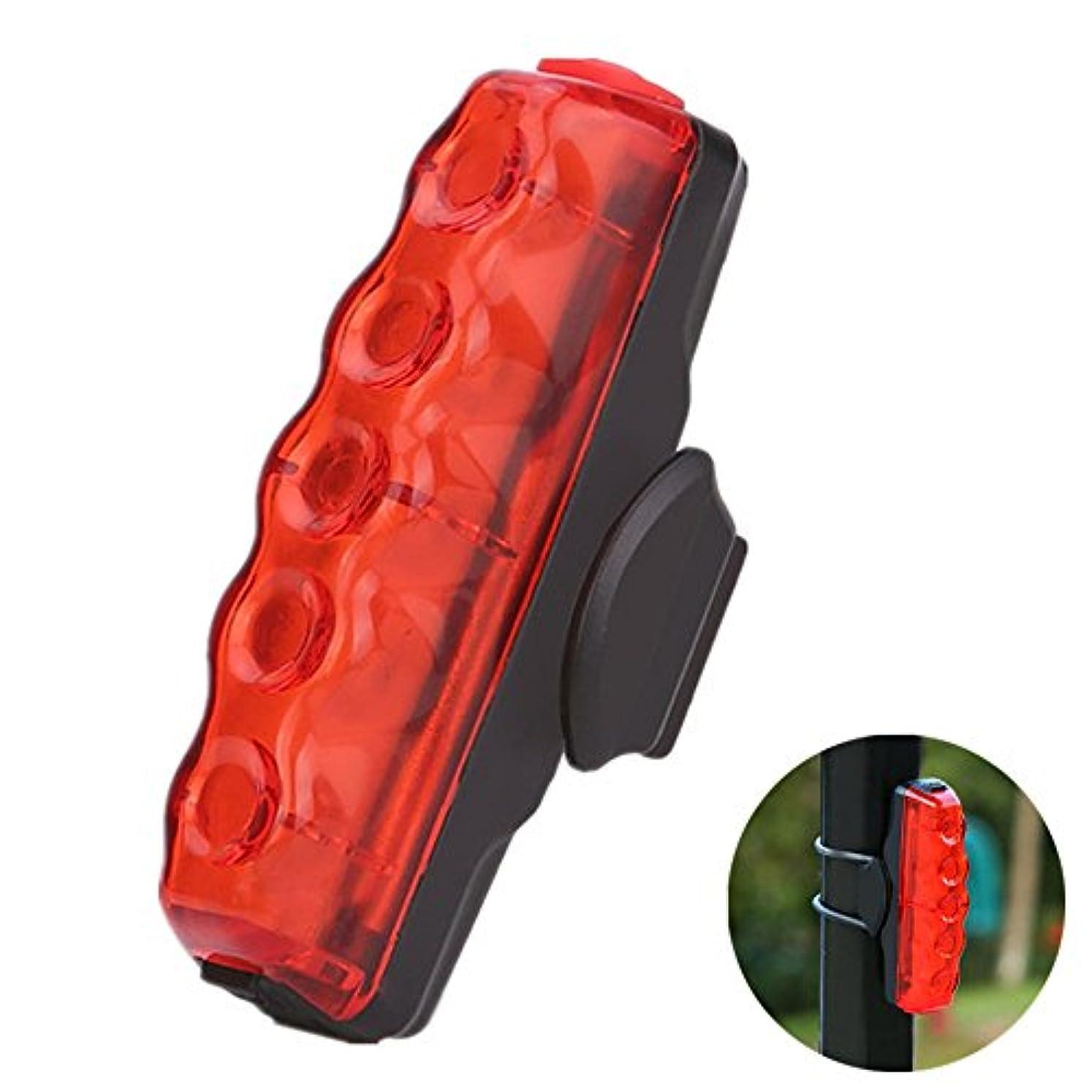 支配する神経障害ベットUSB充電式スーパー明るいCOBバイクテールライト、防水ハイライトテールライト、夜間の警告灯