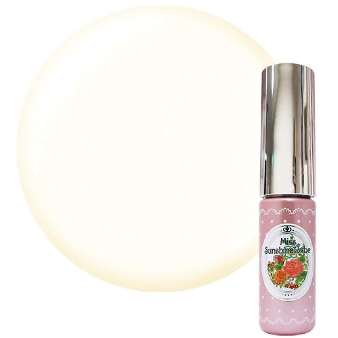 顕微鏡スポーツをする反乱Miss SunshineBabe ミス サンシャインベビー カラージェル MC-30 5g ココナッツティー UV/LED対応