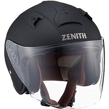 ヤマハ(YAMAHA) バイクヘルメット ジェット YJ-14 ZENITH サンバイザーモデル 90791-2281L ラバートーンブラック L (頭囲 59cm~60cm)