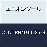 ユニオンツール 超硬エンドミル テーパボール R2×刃長25×片角 2°CCTRB4040254