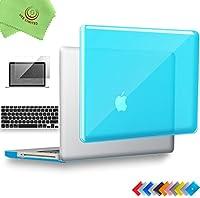 ueswill 3in1光沢クリスタルクリアSee Throughハードシェルケースとシリコンキーボードカバーfor MacBook Pro +マイクロファイバークリーニングクロス MacBook Pro 13'' (Non-Retina) UES03C13P3-11