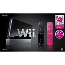 Wii本体(クロ) Wiiリモコンプラス2個、Wiiパーティ同梱 【メーカー生産終了】