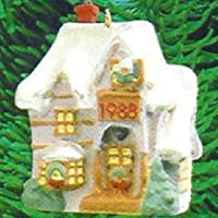 1988 Hallmark Keepsake Ornament Family Home Old English Village 1st in Series [並行輸入品]