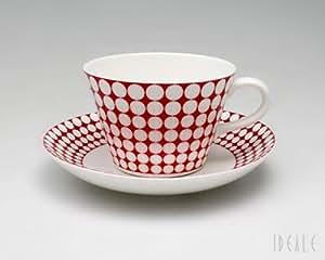 グスタフスベリ(Gustavsberg) エヴァ EVA 493-06 コーヒーカップ&ソーサー 【復刻版】【並行輸入品】