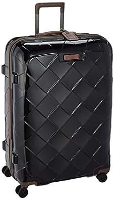 [ストラティック] STRATIC スーツケース  レザー&モア 大型 グッドデザイン賞2016受賞 本革 容量100L 縦サイズ76cm 重量4.36kg 3-9894-75 black/ 001 ブラック