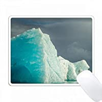 アイスランド、Jokusarlon。青い氷山。 PC Mouse Pad パソコン マウスパッド