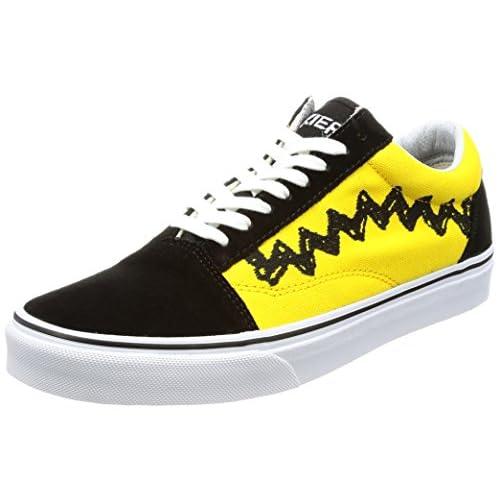 [バンズ] スニーカー Old Skool Peanuts  VN0A38G1OHJ (Peanuts) Charlie Brown/black US 10(28 cm)
