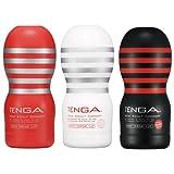 テンガ TENGA ディープスロート カップ コンプリートセット 全3種 スタンダード ソフト ハード